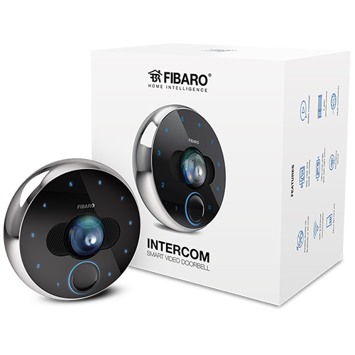 FIBARO Intercom Inteligentny Wideodomofon Z-Wave